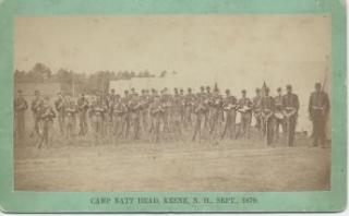 old photo of a group of military members